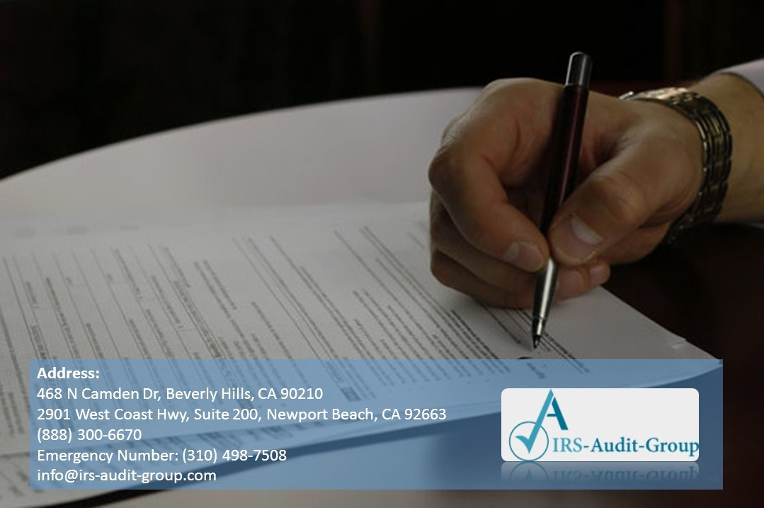 IRS Audit Group Five Tips